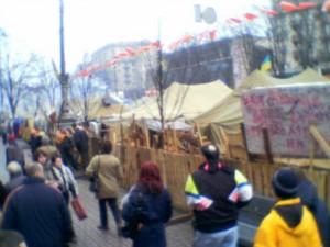 Teltleiren i Kiev