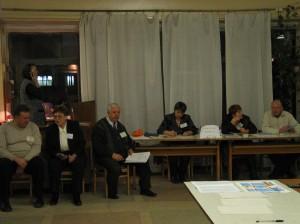 Lokale valgobservatører og sekretariat